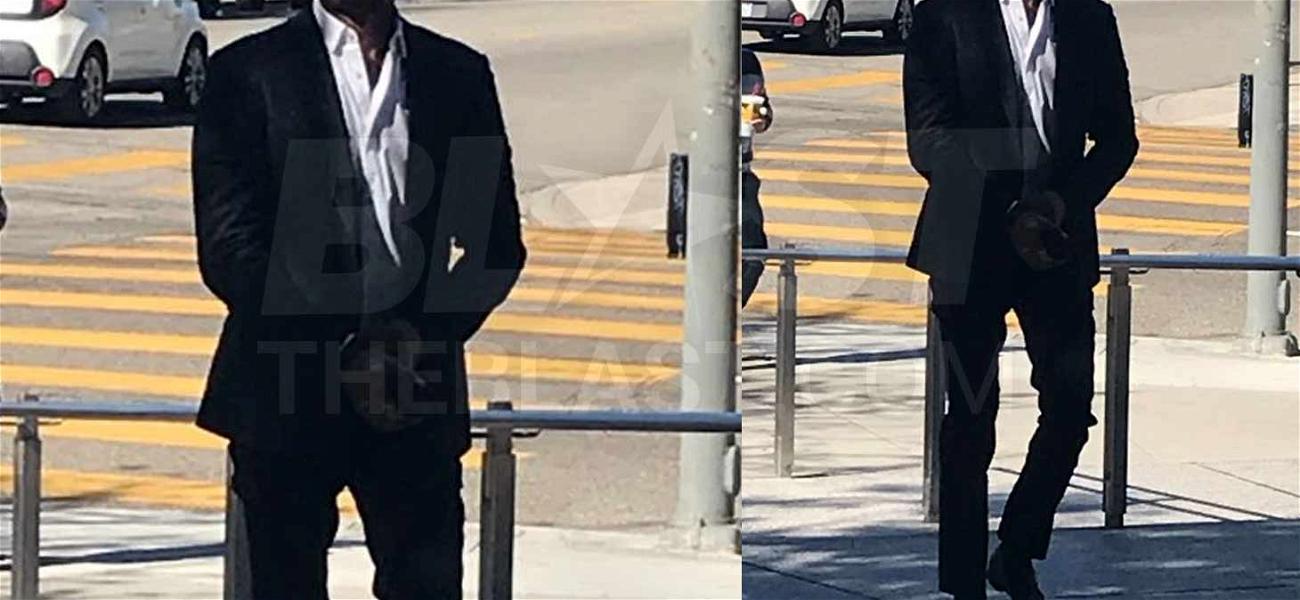 David Charvet Admits He's Dating Jermaine Jones' Wife as Restraining Order Gets Denied