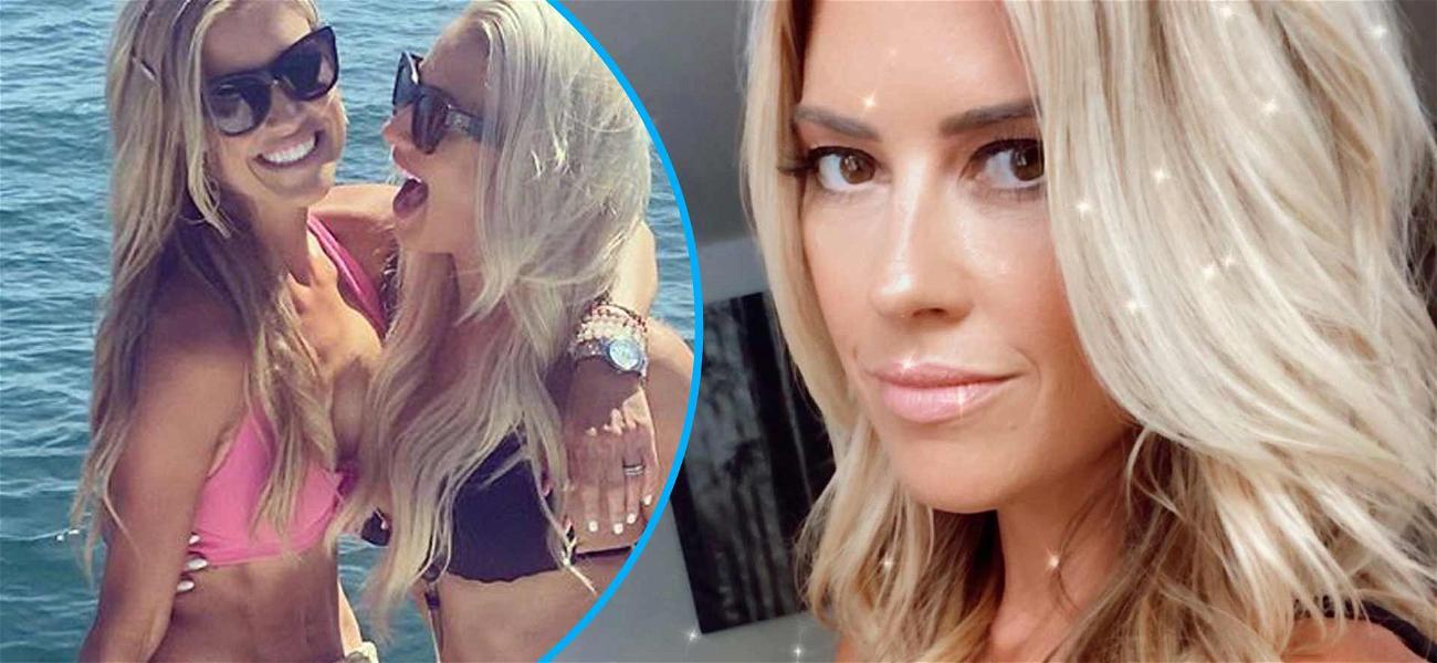 HGTV Star Christina Anstead Has Bikini Boat Party To Celebrate Her 37th Birthday