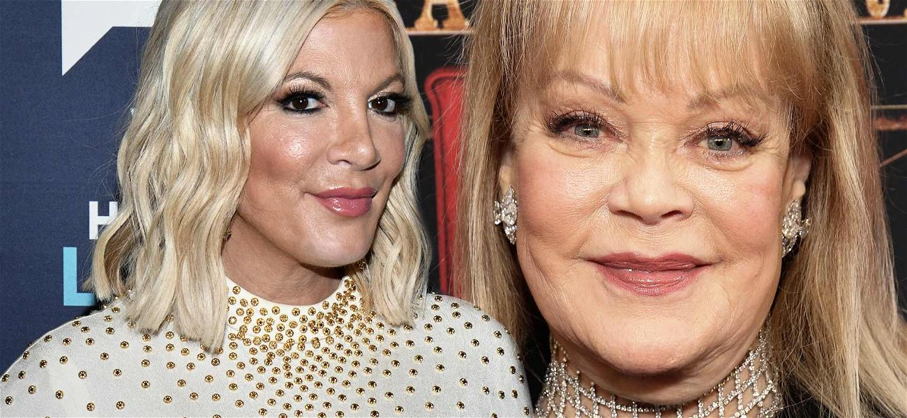 '90210' Star Tori Spelling No Longer Feuding With Mom Candy Spelling