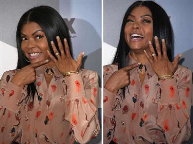 Taraji P. Henson Shines (But Not Brighter Than Her Diamond) In First Appearance Since Engagement