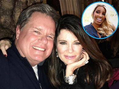 'RHOBH' Star Lisa Vanderpump Responds to NeNe Leakes' Restaurant Claim By Posing With Holy Father