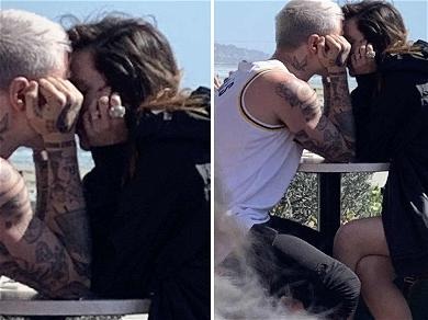 Bella Thorne Locks Lips with Italian Singer After Breakup With Mod Sun