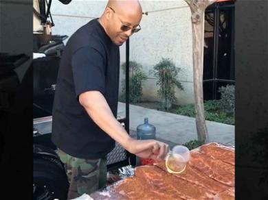 Warren G Serves Up Delicious BBQ for All-Star Weekend