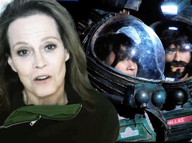Sigourney Weaver Thinks High School Production of 'Alien' is Out of This World!