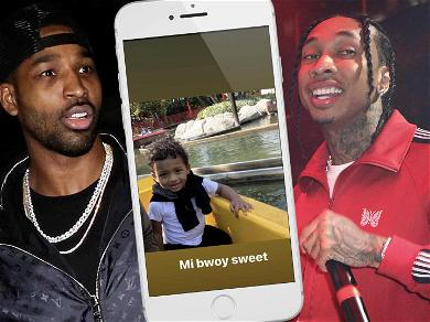 Tristan Thompson Seemingly Trolls Tyga With Pic of Son After Rapper Makes Move on Jordan Craig