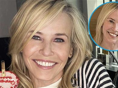 Chelsea Handler Strips Down & Opens Her Legs For NSFW Bathtub Book Review