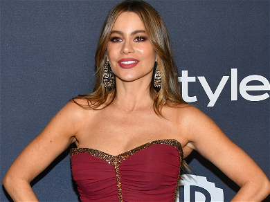 Sofia Vergara Strips Down & Throws On a Towel for for Massage at Friend's Spa