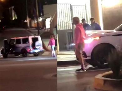 Justin Bieber Checks On Driver After Fender Bender in L.A.