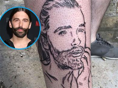 'Queer Eye' Superfan Gets Jonathan Van Ness Tat, Now Planning On Whole Cast!