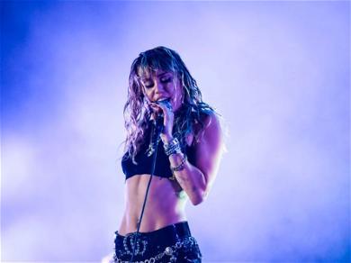 Miley Cyrus Kills It In Tight Crop Top & Louis Vuitton Pants