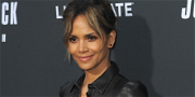 Halle Berry Pours Water Over Her Body To Promote Hydration