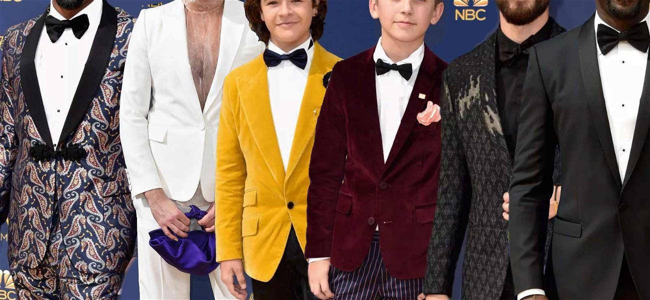 Actors Bring the Star Swagger and Vibrant Colors to the Emmy Carpet