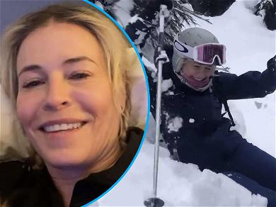Chelsea Handler Says She Tore Her Meniscus After Hitting A Tree Skiing