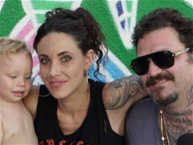 Bam Margera Resurfaces During Rehab Looking Happy with Wife and Son