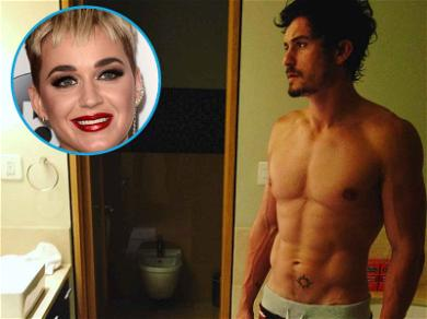 Katy Perry Slides Into Orlando Bloom's IG Over Sexy Shirtless Pic