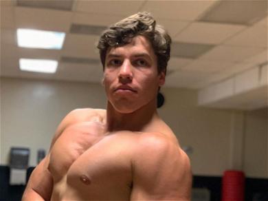 Arnold Schwarzenegger's Son Joseph Baena Recreates His Dad's 'Classic' Poses In New Shirtless Snaps