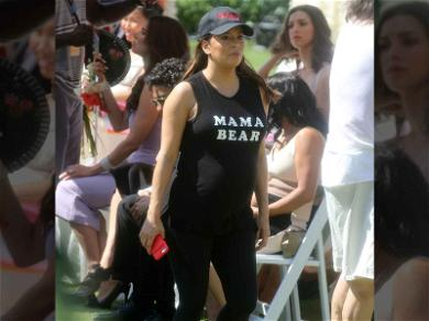 Eva Longoria Is a Working Mama (Bear)