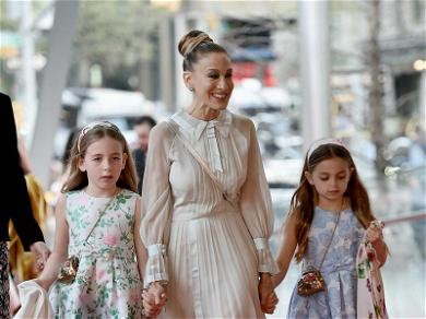 Sarah Jessica Parker Brings Her Twin Daughters as Her Dates to the Ballet
