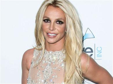 Britney Spears Defies Gravity With Topless Handstand Photo