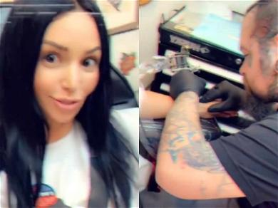 'Vanderpump Rules' Star Scheana Marie Gets Inked With Mom After Casting Vote at the Polls