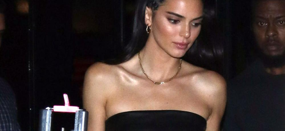 Kendall Jenner Hangs From A Tree In A Monokini, Fans Go Wild