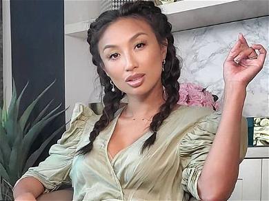 Jeannie Mai Faces Her Fears In Bathroom Minidress