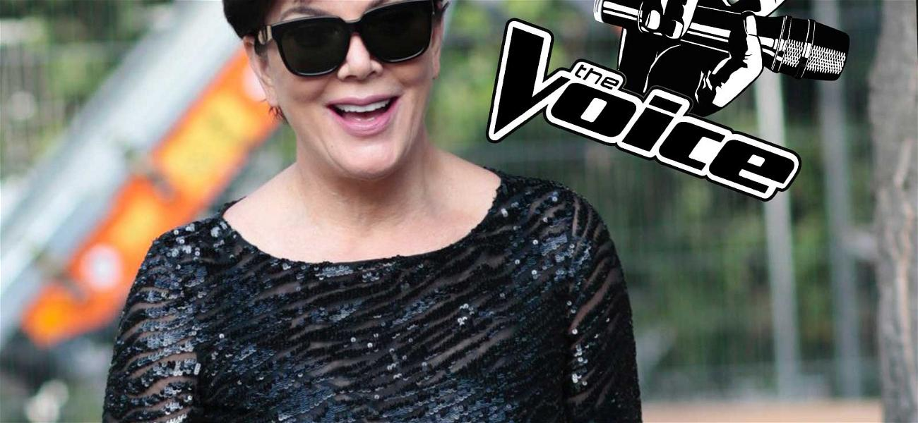 Kris Jenner to Be Featured on 'The Voice'