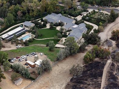 Kim Kardashian Keeping $60 Million Hidden Hills Mansion In Divorce With Kanye West