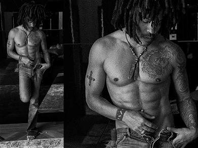 Holy Abs! Lenny Kravitz Strips Down for Delicious Shirtless Photo Shoot