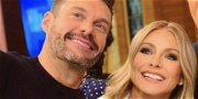 Ryan Seacrest & Kelly Ripa Have Marriage-Sized Squabble Before 'LIVE'