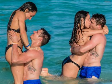 Gold Medal Gymnast Jordyn Wieber Gets Fierce With BF Chris Brooks in Mexico