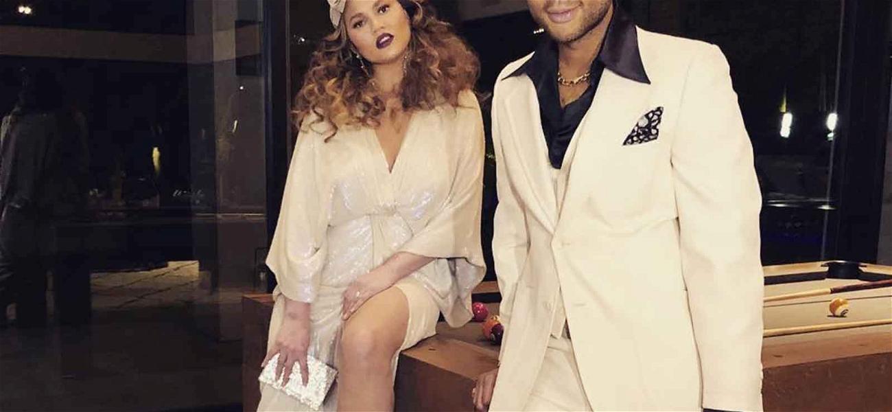 Chrissy Teigen & John Legend Have Friday Night Fever on Parents Night Out