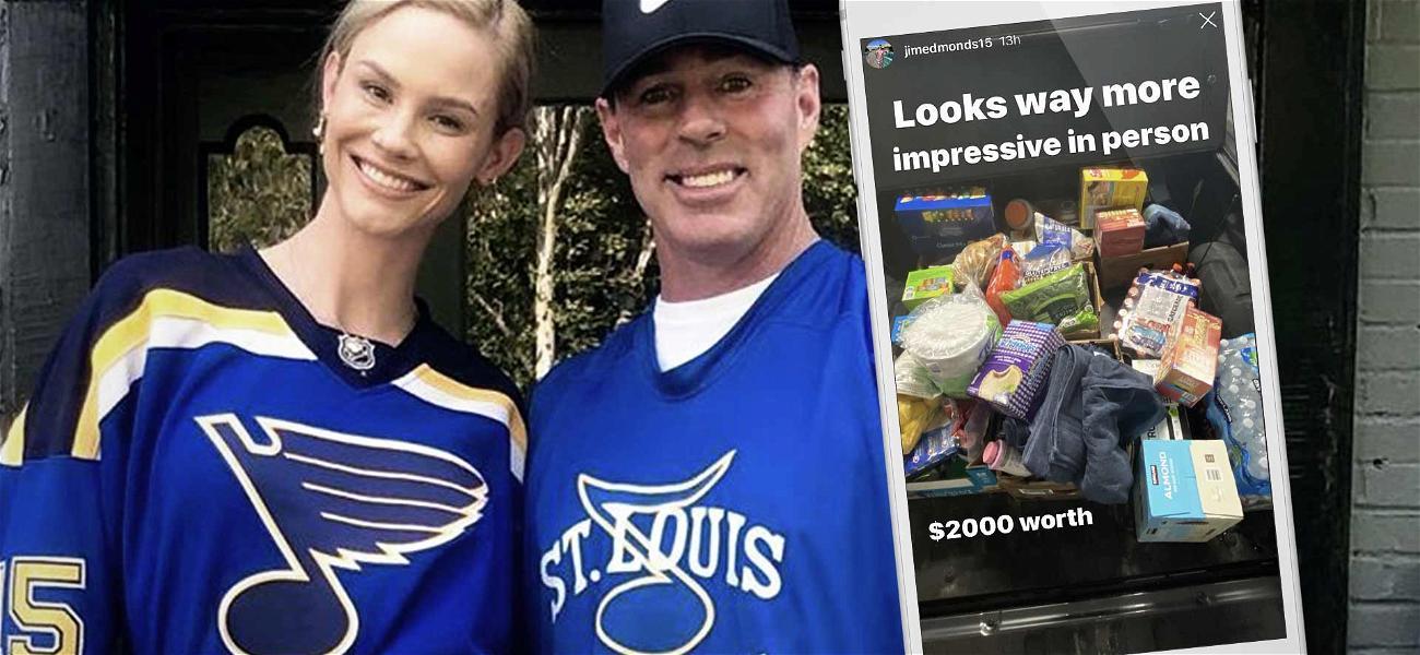 'RHOC' Alum Jim Edmonds Brags About Dropping $2k at Costco Amid Coronavirus