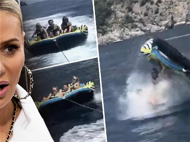 'RHOBH' star Dorit Kemsley LAUNCHED From Water Raft in Painful Video