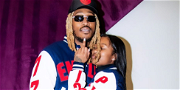 Rapper Future Kisses Girlfriend Dess Dior, Baby Mamas Come Together On Christmas