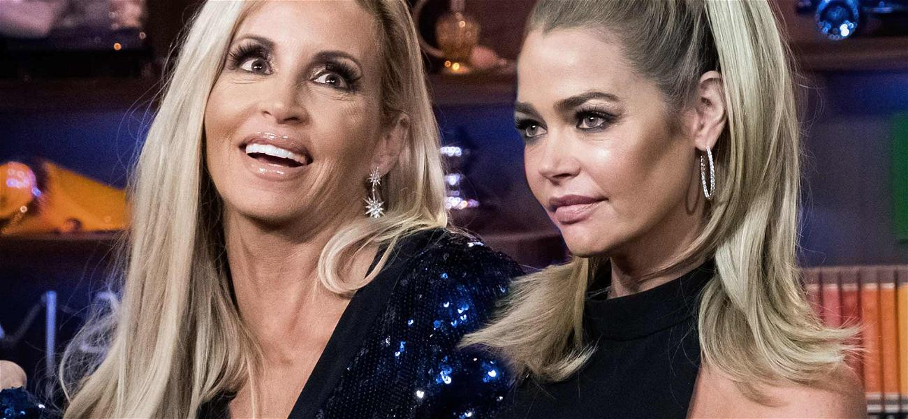 'RHOBH' Star Camille Grammer Reignites Feud With Denise Richards, Denies Racist Comments