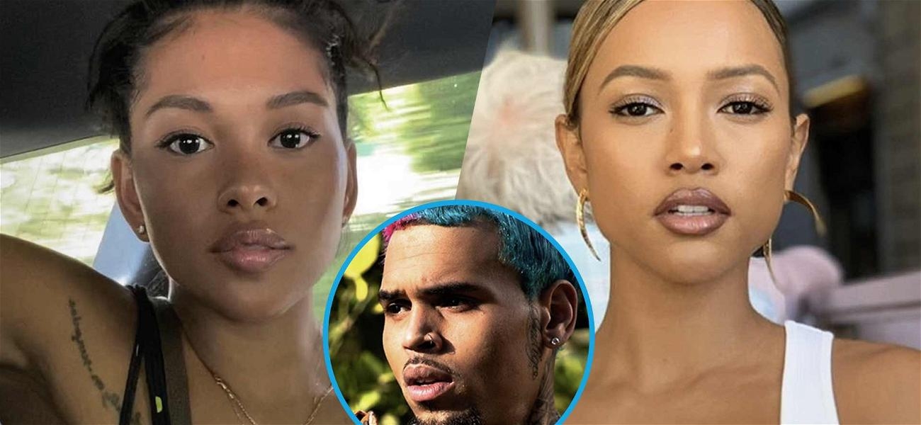 Ammika Harris Accused Of  Stealing Karrueche Tran's Birthday Thunder With Topless Shots