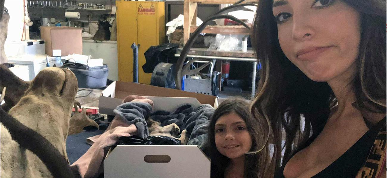 Farrah Abraham Takes Dead Dog to Taxidermist After Filming Daughter Sobbing