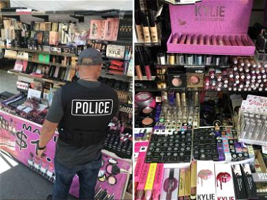 Counterfeit Kylie Cosmetics and Kat Von D Products Seized in L.A. Tested Positive for People Poop