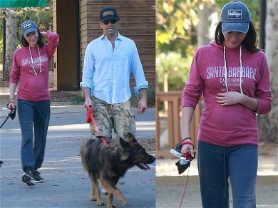 John Stamos Heads Out With Pregnant Fiancée Caitlin McHugh