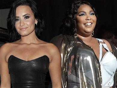 Demi Lovato Fangirls Out To Lizzo Following Nude Photo Leak