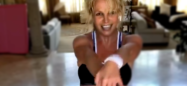 Britney Spears Slays Another Sweat-Drenched Dance, Euro Model Trashed For Shading Her
