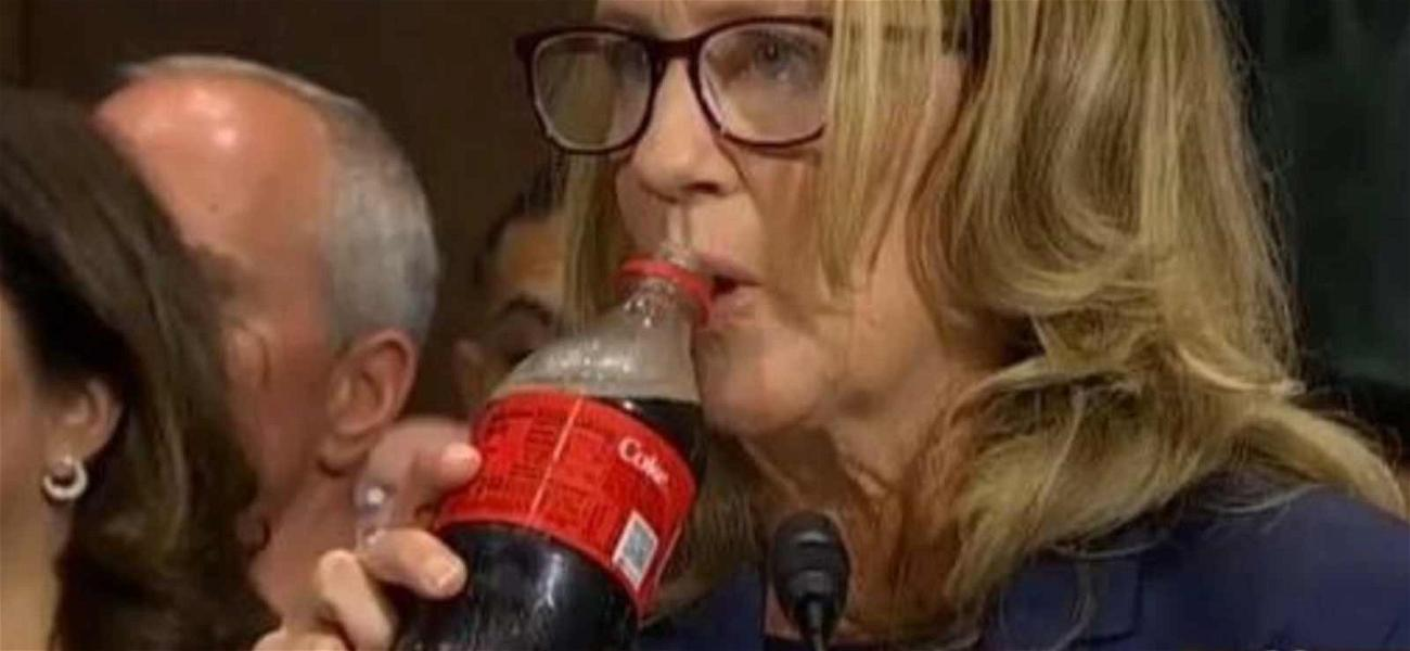 Coca-Cola Gets Huge Shout-Out During Dr. Christine Blasey Ford Testimony