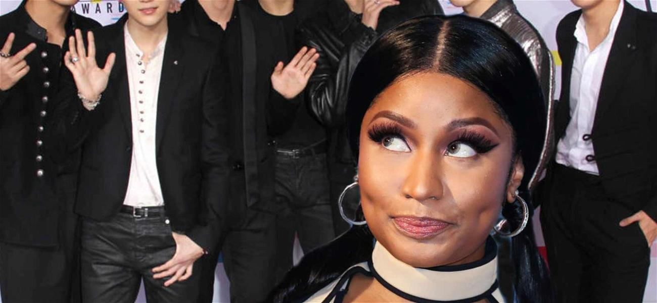 Nicki Minaj Releases New Song With BTS Following Shazam Screw Up