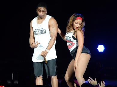 Nelly's Dancer Steals the Show