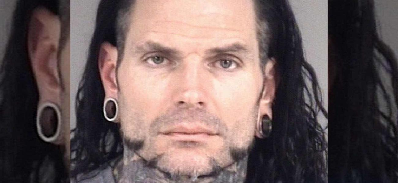 WWE Star Jeff Hardy Arrested for DWI After Car Wreck