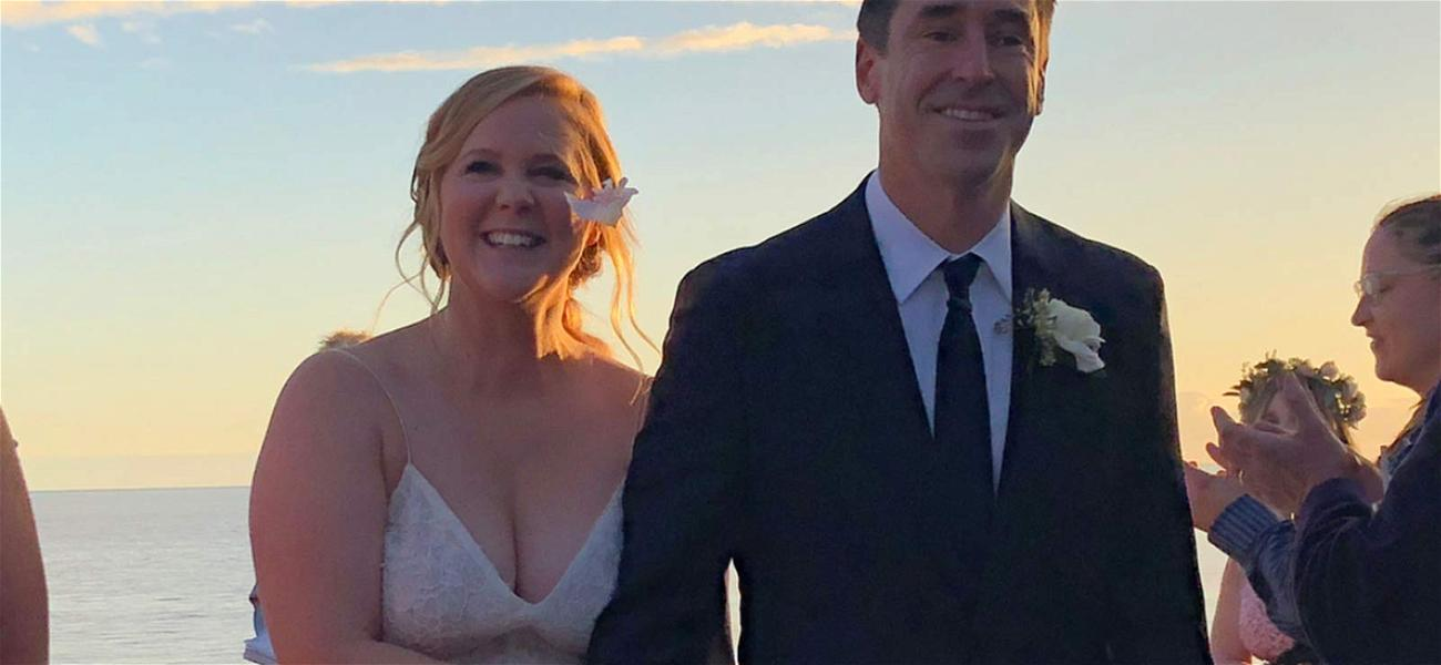 Amy Schumer Gives Details on Raunchy Wedding Vows