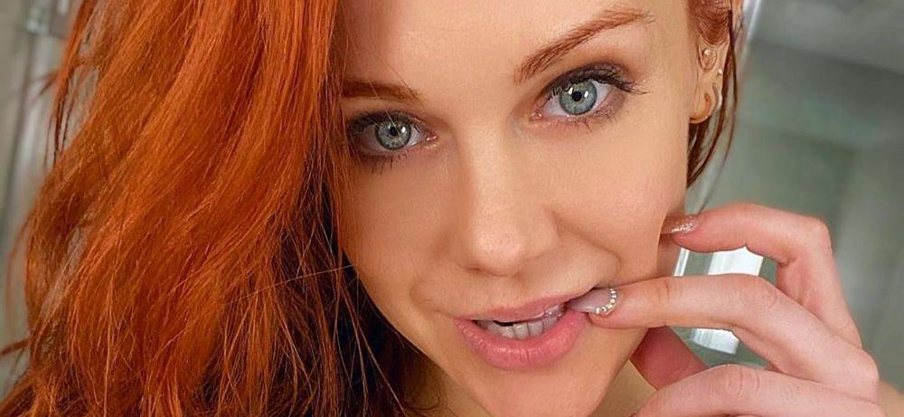 Porn Star Maitland Ward Bakes 'Corona Cookies' In Sexy No-Pants Video With An Unbuttoned Shirt
