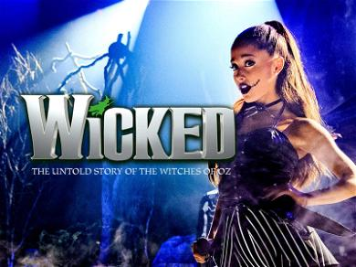 Ariana Grande is 'Wicked,' No Mention of Pete Davidson in First Message Since Split