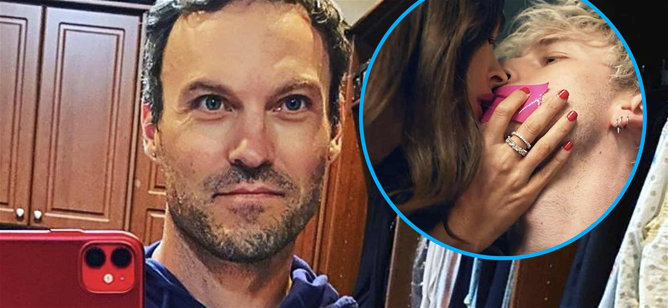 Brian Austin Green Seen For First Time Since Megan Fox's Sleepover With Machine Gun Kelly